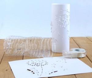 reciklirana čarobna namizna svetilka2