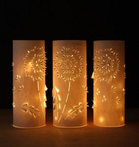 reciklirana čarobna namizna svetilka3