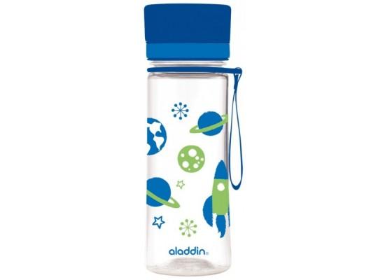 Steklenička aladdin aveo otroška 0.35l modra