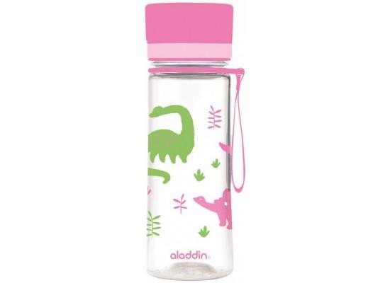 Steklenička aladdin aveo otroška 0.35l roza