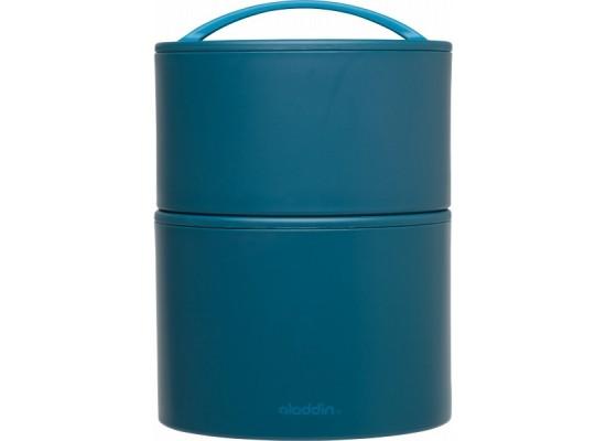 Termo posoda za hrano bento 0.95l marina, modra