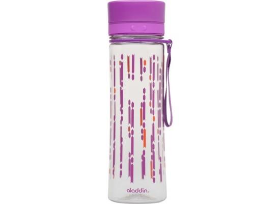 Steklenička aladdin aveo 0.60l berry, vijolična s potiskom