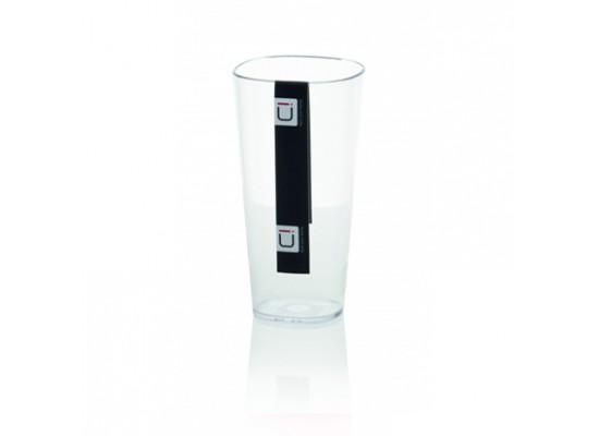 Kozarec transparentno bel 4dcl