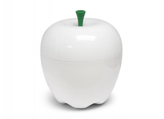 Posoda za hrano jabolko-bela