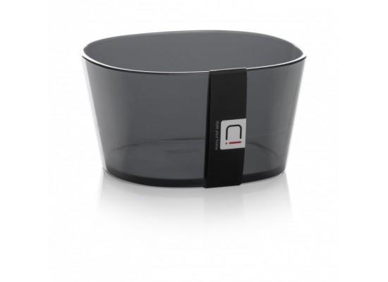 Posodica transparentno črna 4dcl