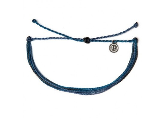 Zapestnica solid - temno modra