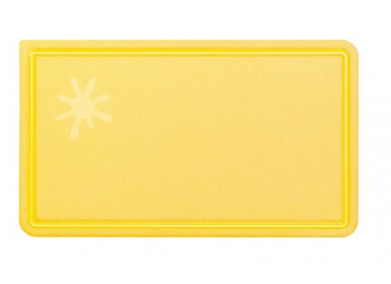 Eko velika rezalna deska rumena