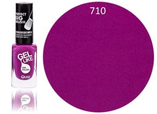 Quiz Gel lak za nohte vijoličen 710