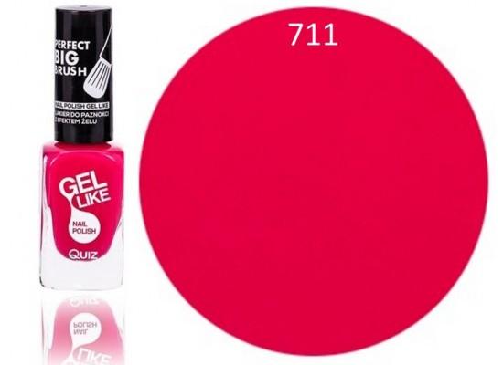 Quiz Gel lak za nohte roza 711