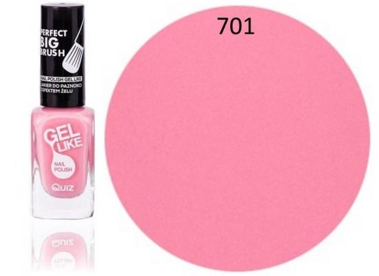 Quiz Gel lak za nohte roza 701