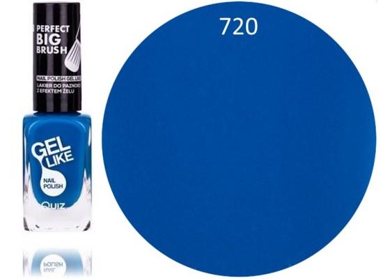 Quiz Gel lak za nohte  extra moder 720