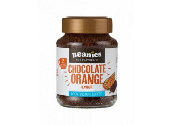 Razkošna brezkofeinska kava - okus čokolada in pomaranča 50g