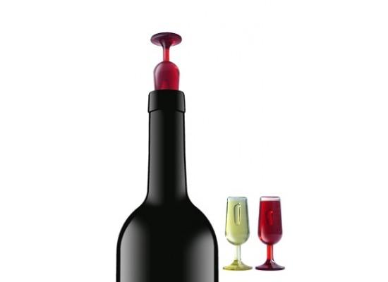 Komplet 2 zamaškov za vino