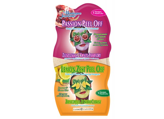 Montagne Jeunesse duo negovalna maska - Peel Off Masque/Lemon Zest