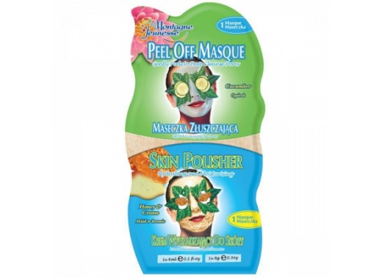 Montagne Jeunesse duo negovalna maska - Peel Off Masque/Skin Polisher