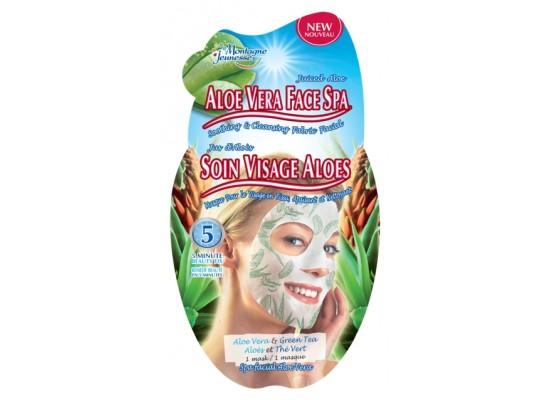 Montagne Jeunesse negovalna maska - Aloe Vera Face Spa Satches