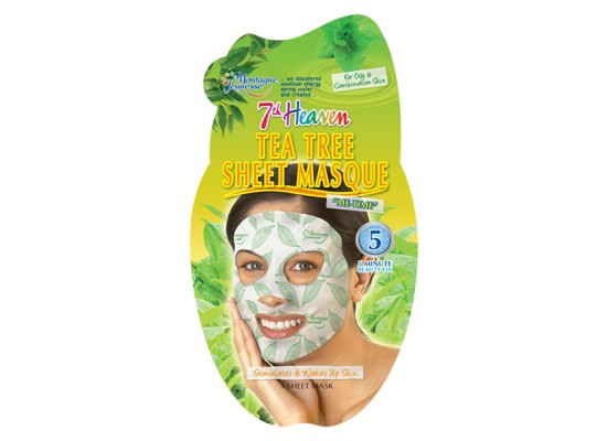 Montagne Jeunesse negovalna maska - Tea Tree Sheet Masque