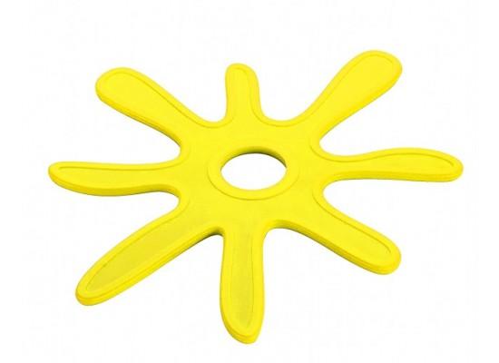Eko podstavek za vročo vodo rumen