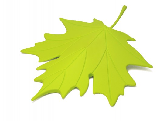 Stoper za vrata list - zelen