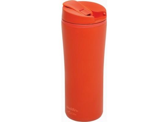 Reciklirani termo lonček flip-seal 0.35 l, rdeč