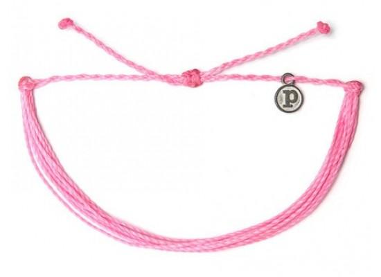 Zapestnica solid - roza