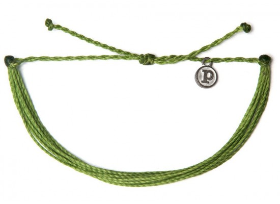 Zapestnica solid - zelena