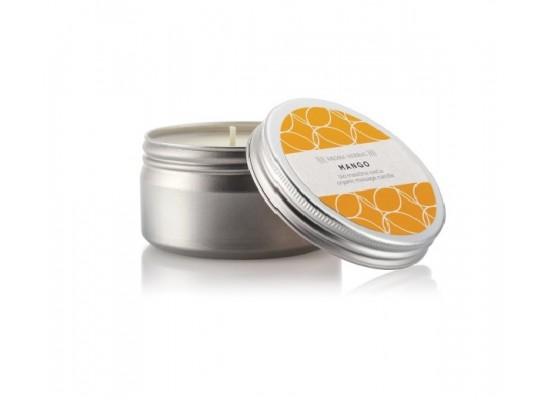 Bio masažna sveča mango 100ml