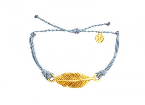 Zapestnica zlato pero - modra