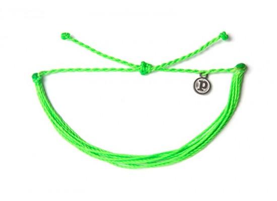 Zapestnica solid - neonsko zelena