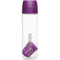 Steklenička za vodo infuse s filtrom 0.70l vijolična