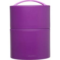 Termo posoda za hrano bento 0.95l vijolična