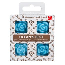 4 dišeči voski v darilni škatlici - Zakladi Morja