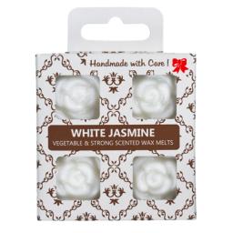 4 dišeči voski v darilni škatlici - Beli Jasmin