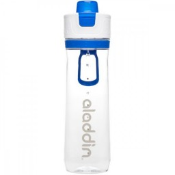 Steklenička Active Hydration Tracker 0,80 l, modra