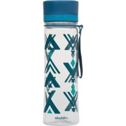 Steklenička aladdin aveo 0.60l modra s potiskom