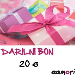 Darilni bon AAMORI v vrednosti 20€