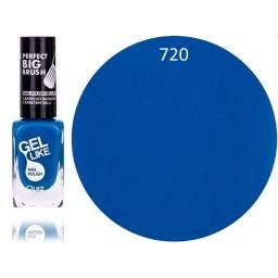 Gel Like lak za nohte neonsko moder 720