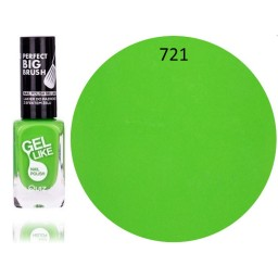 Gel lak za nohte neonsko zelen 721