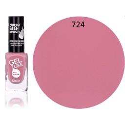 Gel Like lak za nohte pastelno roza 724