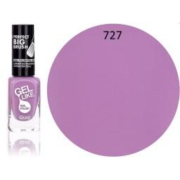 Gel Like lak za nohte svetlo vijoličen 727