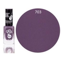 Gel Like lak za nohte pastelno vijoličen 703