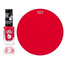 Gel Like lak za nohte rdeč 707