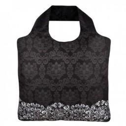 Eko nakupovalna vrečka črno bela