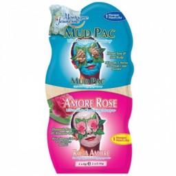 Negovalna maska za obraz - Mud Pac/Amore Rose
