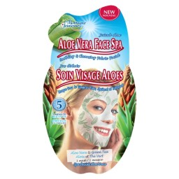 Negovalna maska za obraz - Aloe Vera Face Spa Satches