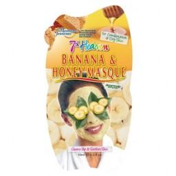 Negovalna maska za obraz - banana in med