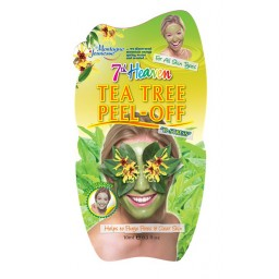 Negovalna maska za obraz - čajevec (peel off)