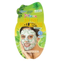 Negovalna maska za obraz - Tea Tree Sheet Masque