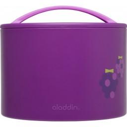Otroška termo posoda za hrano bento 0.6l vijolična