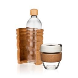 Paket steklenica za vodo in lonček za kavo